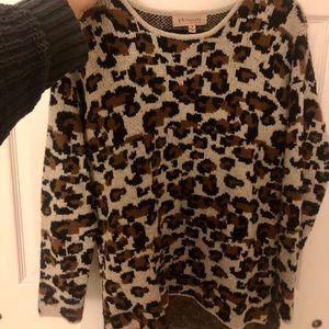 Philosophy Leopard Sweater